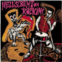 Various - Hell's Bent on Rockin' - Psychobilly/Neo-Rockabilly Nervous Records 1985 VG/EX